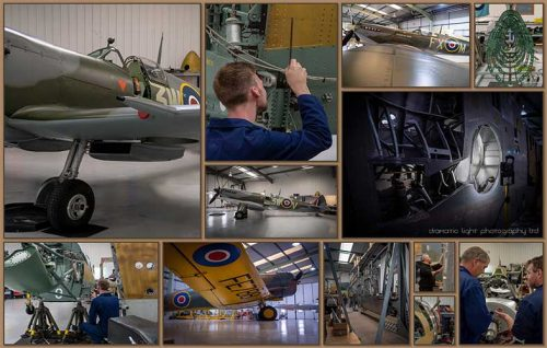 spitfire technical tour